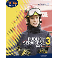 BTEC Level 3 National Public Services Student Book 1 (BOK)