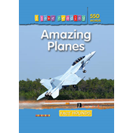 I Love Reading Fact Hounds 550 Words: Amazing Planes (BOK)