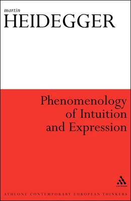 Phenomenology of Intuition and Expression (BOK)