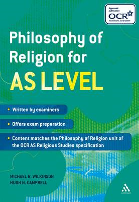 Philosophy of Religion for AS Level (BOK)
