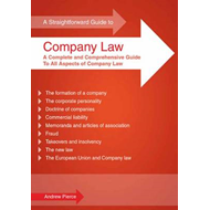 Straightforward Guide to Company Law (BOK)