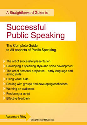 Successful Public Speaking: Straightforward Guide (BOK)