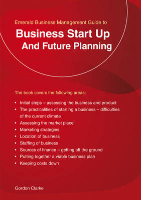 Business Start Up and Future Planning (BOK)