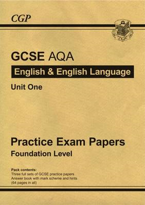 GCSE English AQA Practice Papers - Foundation (BOK)