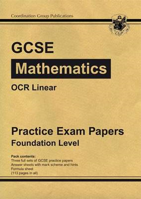 GCSE Maths OCR Linear Practice Papers - Foundation (BOK)