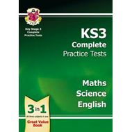 KS3 Complete Practice Tests - Science, Maths and English (BOK)