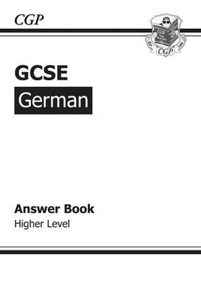GCSE German Answers (for Workbook) Higher (A*-G Course) (BOK)