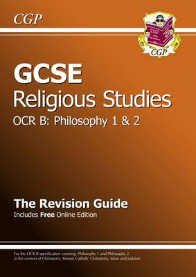 GCSE Religious Studies OCR B Philosophy Revision Guide (with (BOK)