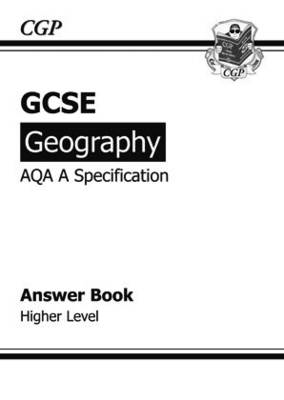 GCSE Geography AQA A Answers (for Workbook) Higher (A*-G Cou (BOK)