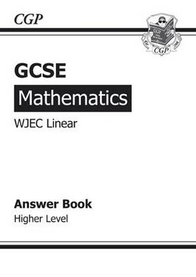 GCSE Maths WJEC Answers for Workbook (with Online Edition) - Higher (BOK)