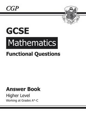 GCSE Maths Functional Answers (for Question Book) - Higher (BOK)