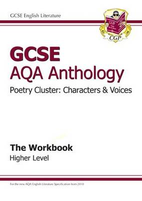GCSE AQA Anthology Poetry Workbook (Characters & Voices) Hig (BOK)