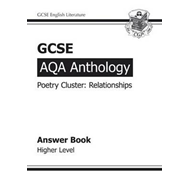 GCSE AQA Anthology Poetry Answers for Workbook (Relationship (BOK)