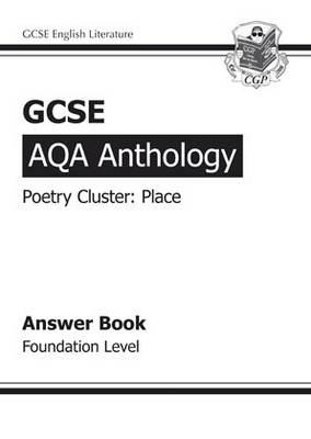 GCSE Anthology AQA Poetry Answers for Workbook (Place) Foundation (BOK)