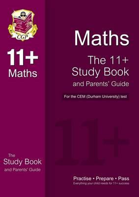 11+ Maths Study Book and Parents' Guide for the CEM Test (BOK)