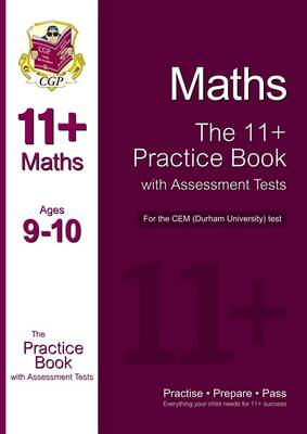 11+ Maths Practice Book with Assessment Tests (Age 9-10) for (BOK)