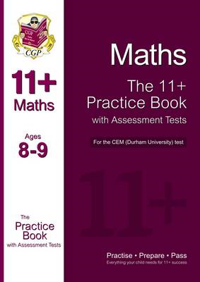 11+ Maths Practice Book with Assessment Tests (Age 8-9) for (BOK)