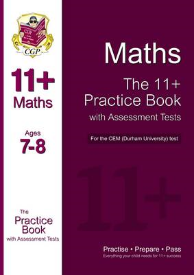 11+ Maths Practice Book with Assessment Tests (Age 7-8) for (BOK)