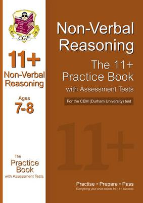 11+ Non-verbal Reasoning Practice Book with Assessment Tests (BOK)