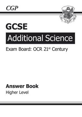 GCSE Additional Science OCR 21st Century Answers (for Workbo (BOK)