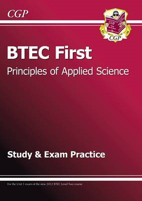 BTEC First in Principles of Applied Science Study and Exam P (BOK)