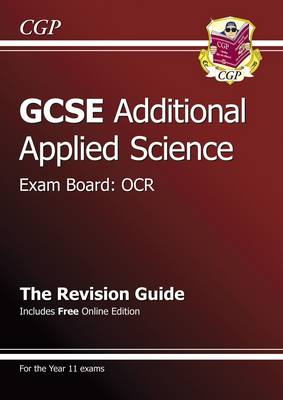 GCSE Additional Applied Science OCR Revision Guide (with Onl (BOK)