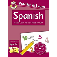New Curriculum Practise & Learn: Spanish for Ages 5-7 - with (BOK)