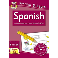 New Curriculum Practise & Learn: Spanish for Ages 7-9 - With (BOK)