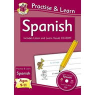 New Curriculum Practise & Learn: Spanish for Ages 9-11 - wit (BOK)