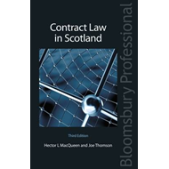 Contract Law in Scotland (BOK)