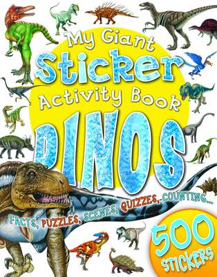 My Giant Sticker Activity Book Dinosaurs (BOK)