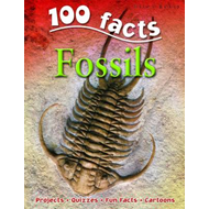100 Facts on Fossils (BOK)