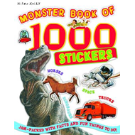 Monster Book of 1000 Stickers (BOK)