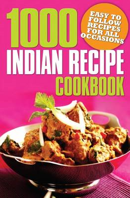 1000 Indian Recipe Cookbook (BOK)