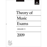 Theory of Music Exams, Grade 5, 2009: Published Theory Papers (BOK)