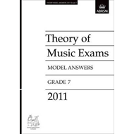 Theory of Music Exams 2011 Model Answers, Grade 7 (BOK)