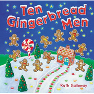 Ten Gingerbread Men (BOK)