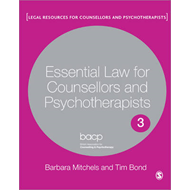 Essential Law for Counsellors and Psychotherapists (BOK)