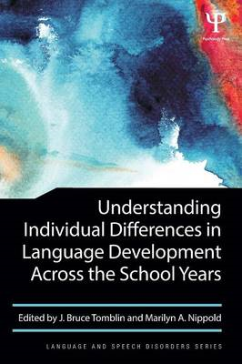 Understanding Individual Differences in Language Development (BOK)