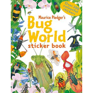 Bug World Sticker Book (BOK)