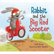 Rabbit and the Big Red Scooter (BOK)