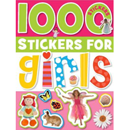 1000 Stickers for Girls (BOK)