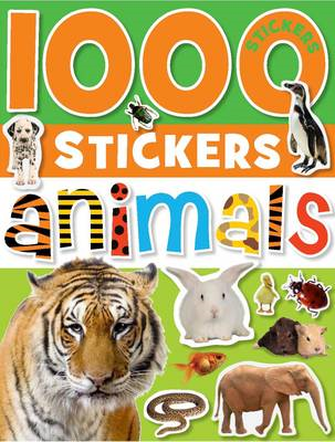 1000 Stickers Animals (BOK)