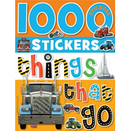 1000 Stickers Things That Go (BOK)