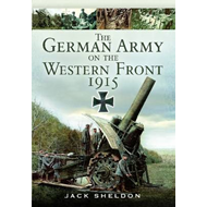 German Army on the Western Front 1915 (BOK)