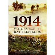 1914: Voices from the Battlefields (BOK)