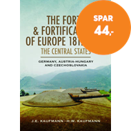 Produktbilde for Forts and Fortifications of Europe 1815-1945: The Central States (BOK)
