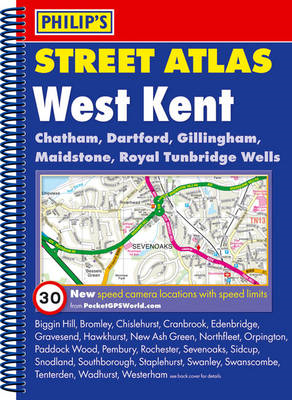 Philip's Street Atlas West Kent (BOK)