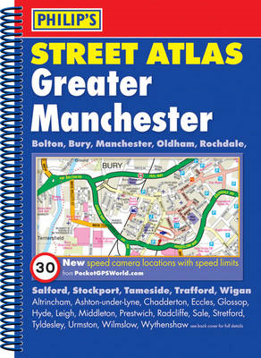 Philip's Street Atlas Greater Manchester (BOK)