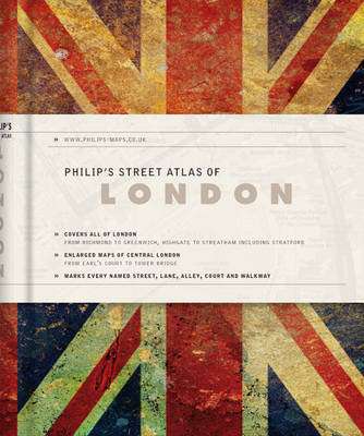 Philip's Street Atlas of London (BOK)